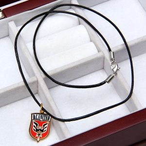 D.C. United WinCraft Leather Charm Necklace
