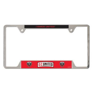 D.C. United WinCraft Team Logo License Plate Frame