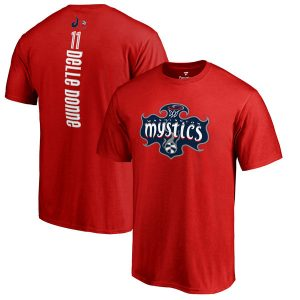 Elena Delle Donne Washington Mystics Fanatics Branded Backer Name and Number T-Shirt
