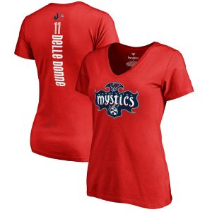 Elena Delle Donne Washington Mystics Women's Backer Slim Fit Name and Number T-Shirt