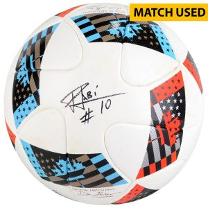 Fabian Espindola DC United Fanatics Authentic Autographed Match-Used Soccer Ball