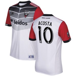 Luciano Acosta D.C. United adidas 2017 Secondary Authentic Jersey