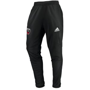 Men's D.C. United adidas Black Anthem Pants