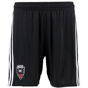 Men's D.C. United adidas Black Replica climalite Shorts