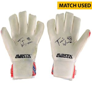 Travis Worra DC United Fanatics Authentic Autographed Match-Used Goal Keeper Pair of Gloves