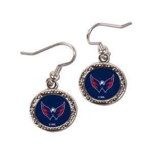 Washington Capitals WinCraft Women's Round Dangle Earrings