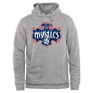 Washington Mystics Secondary Logo Pullover Hoodie – Ash
