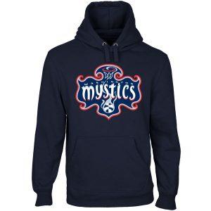 Washington Mystics Primary Logo Pullover Hoodie – Navy Blue