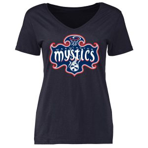 Washington Mystics Women's Primary Logo Slim Fit T-Shirt