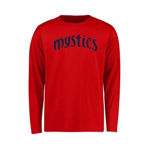 Washington Mystics Youth Primary Wordmark Long Sleeve T-Shirt