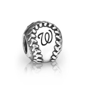Washington Nationals Pandora Baseball Charm