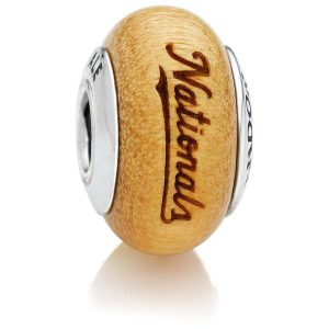 Washington Nationals Pandora Women's Wood Charm