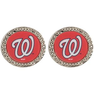 Washington Nationals WinCraft Women's Round Post Earrings