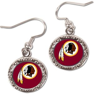 Washington Redskins WinCraft Women's Round Dangle Earrings