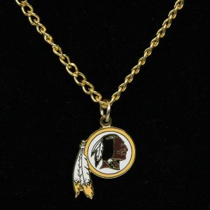 Washington Redskins Women's BFF Logo Necklace