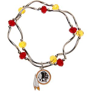 Washington Redskins Women's Bead Stretch Bracelet