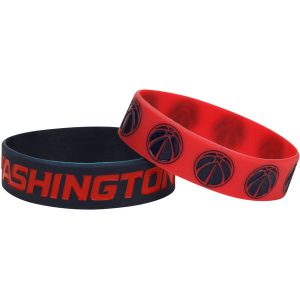 Washington Wizards 2pk Bulky Bands Bracelet