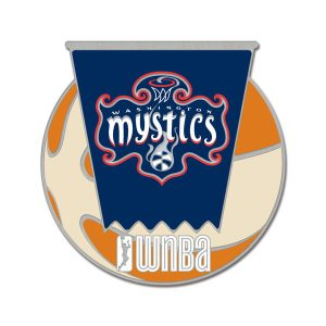 WinCraft Washington Mystics Team Collectible Pin