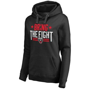 Women's D.C. United Black Bring The Fight Pullover Hoodie