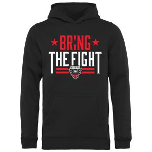Youth D.C. United Black Bring The Fight Pullover Hoodie