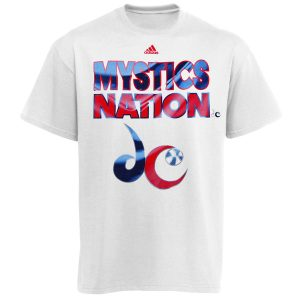 adidas Washington Mystics WNBA Nation T-Shirt