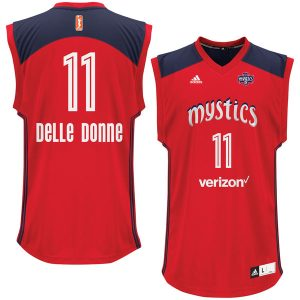 Elena Delle Donne Washington Mystics adidas Replica Finished Jersey